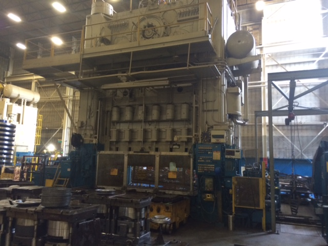 Verson Hydraulic Press 5000 Ton