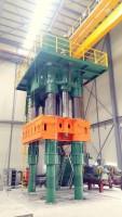 6000 Ton Four Column Push Down Open Die Forging  Press