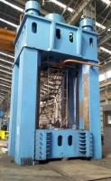 3500 Ton Four Column Push Down Open Die Forging Press