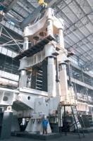 8000 Ton Four Column Push Down Open Die Forging Press