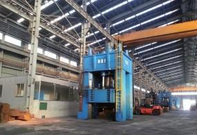 3500 Ton Four Column Push Down Open Die Forging Press 1