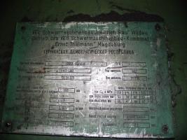 VEB Schwermaschinenbau   UBBDA 60x4500 Plate Roll