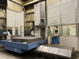 2008 Union Model KCU 150 With Siemens 840D CNC Planer Type HBM