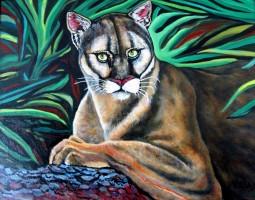 Puma On Branch