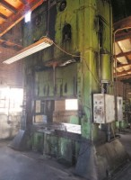 400 Ton Verson Straight Side Double Crank Single Acting Press, Mdl: 400-52-108T