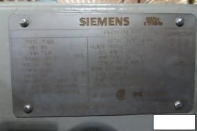 Siemens SD100 Motor, 100 Hp, 885 RPM, 445T Frame, S/n Q2-H13TE3P.826