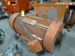 Reliance 500 HP Motor | ID No. 2VA009225-AT-QT; 500 HP; 460V; 1105 RPM; 3PH