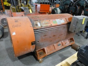 Siemens Induction 700 HP Motor | Type: CGZ; 700 HP; 4160V; 894 RPM