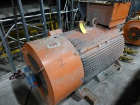 ABB 600 HPMotor | Model No. 4549143; 3PH; 1200 RPM; 3/60/460V;