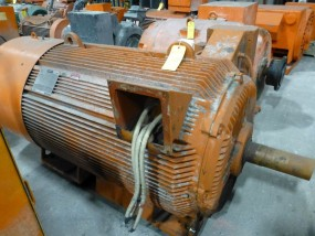 GE 500 HP Motor | Model No. 5K6809432850; 500 HP; 4160V; 890 RPM; Frame: 68096; 3PH