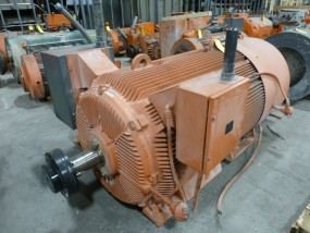 GE 1000 HP Motor | Model No. 5KAF68114374501; 1000 HP; 4160V; 1790 RPM; Frame: 68118; 3PH