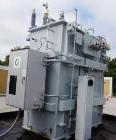 NEW UNUSED 16/28 MVA CG GSU Power Transformer