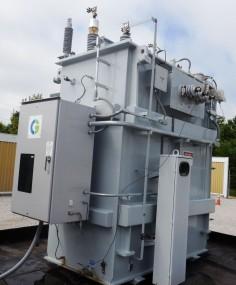 NEW UNUSED 16/28 MVA CG GSU Power Transformer
